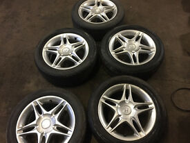 "honda civic jordan alloys speedlines 4x100 15"" set of 5"