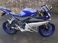 YZF R125 2015 RACE BLUE (Now 2450 reduced from 2650)