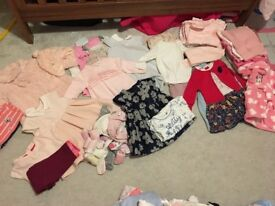 6-9m girls cloths bundle
