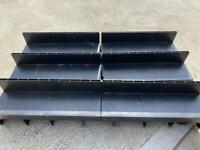 3x 1m slot drainage channels