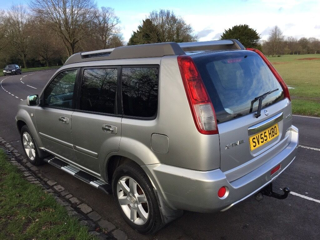 2005 NISSAN X-TRAIL T-SPEC DCI ESTATE 2.2 DIESEL 6SPEED MANUAL