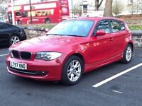 2007 (Sep 57) BMW 116i ES [122] 16V - Hatchback 5 Doors - Manual - Petrol - RED *FULL MOT/PX WELCOME
