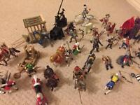 Bundle of Knights/Castle Figures/Horses/Monsters