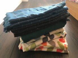 Blankets (weddings, picnic, parties)