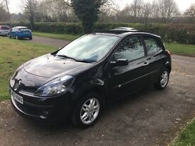 2007 1.4 Renault Clio Dynamique - Low Mileage, 1 Year MOT, Panoramic Sunroof,