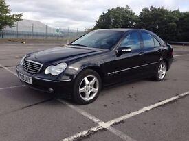 Mercedes Benz - C180 - Kompressor - C Class - Avantgarde - AUTO Black - 1.8 2003