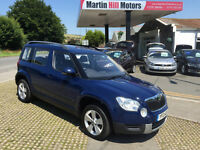 2013 (13) Skoda Yeti 1.6 TDI S GreenLine II Station Wagon 5dr Hatch