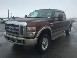 2008 Ford F-250 KING RANCH LARIAT DIESEL 4X4 TOIT  $13900
