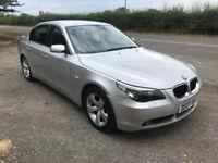2007 BMW 525D 5 SERIES 2.5 DIESEL AUTOMATIC SILVER 4 DOOR SALOON