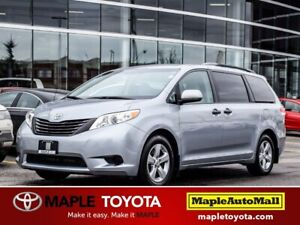 2014 Toyota Sienna 1 OWNER TOYOTA CERTIFIED