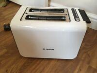 Bosch Toaster Styline Sensor TAT861104GB white