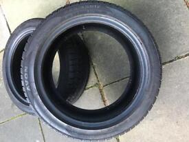 225/45R17 Avon Ice Touring St Winter Tyres X 2