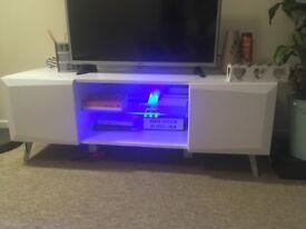 Xander tv stand led lights