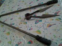 Long handled shears +sheep shearing clippers