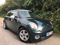 2007 07 MINI Hatch 1.6 Cooper D Hatchback 3dr Diesel Manual 1 OWNER FROM NEW + £30 RD TAX
