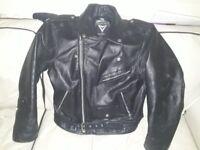 Leather bike jacket like new