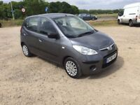 2008 HYUNDAI I10 1.1 CLASSIC 5 DOOR MANUAL HATCHBACK PETROL