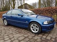 2003 (53) Reg BMW 318 Ci Coupe, 3 Series, Service History - MOT till 29/11/17