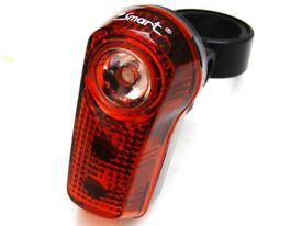 Smart Super flash 1 Watt Rear LED Cycle Cycling Bike Light SUPER BRIGHT