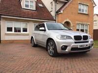 BMW X5 3.0d M sport X drive 7 seater Face lift 8 speed