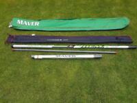 Maver margin fishing pole