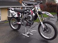 Honda CRF 450 R8 Road registered motocross enduro PX and delivery possible