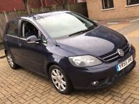 VOLKSWAGEN GOLF PLUS 1.9 TDI PD SPORT DIESEL MANUAL 5 SEAT MOT ECO SPACIOUS FAMILY CAR NOT C MAX
