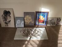 Selection of wall canvas