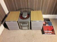 goodmans mini music system plus 3 x cd's
