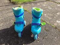 ELC 2 in 1 adjustable skate size 9-12