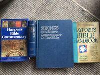 Christian bible study books- great quality