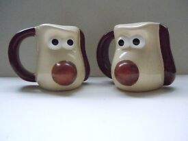 WALLACE AND GROMIT MUGS