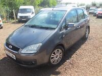 FORD FOCUS C-MAX 2005 55 2.0 LTR TDCI DIESEL 103000 MILES 1 YEAR MOT VERY CLEAN CONDITION !!!