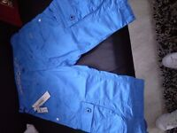 Mens police shorts size 30 waist blue brand new never worn alsi mens bkue police shirt size small