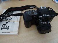 Nikon F-401s Film Camera