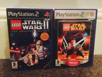 Lego: Star Wars 1 & 2 PS2 games