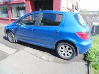 Peugeot 307 for Sale or Swap