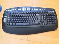 Microsoft Wireless Keyboard Comfort Design