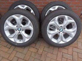 """BMW X5 E70 Se delivery mileage 19"""" alloy wheels and tyres"""