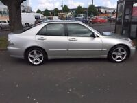 LEXUS IS200 2L Petrol Brilliant example 1 OWNER from new FULL SERVICE HISTORY very economical