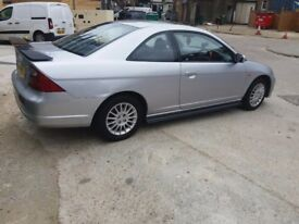 Honda civic good condition low milage.