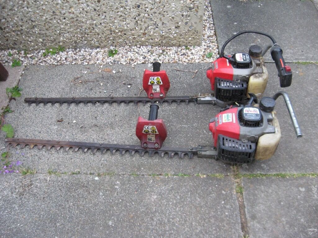 2 x Robin HT75 petrol Hedge trimmer SPARES OR REPAIR
