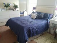 King Size awesome divan bed with headboard