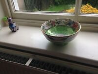 Antique Bowl Maling penny Rose