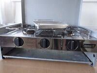 Coleman 2 Burner Cooker with Grill