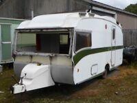 Vintage caravan for spares or repair