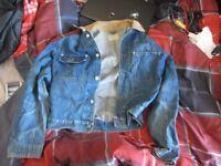 Ralph Lauren 'Polo' Denim Jacket - Corduroy Collar - MEN'S MEDIUM