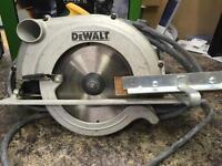 Dewalt D23650-LX circular saw 115v