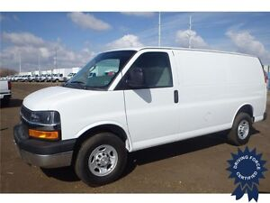 2016 Chevrolet Express Cargo Van Rear Wheel Drive - 13,223 KMs