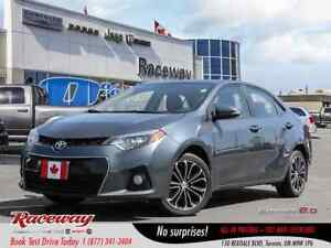 2016 Toyota Corolla ***S***JUST TRADED IN***PRICED TO SELL***